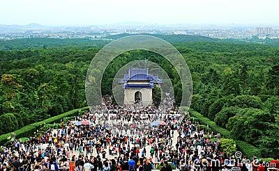 Sun yat-sen in nanjing Editorial Image