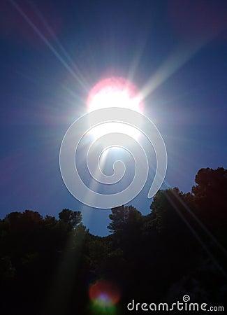 Sun at Zenith...