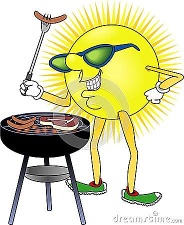 Free Sun_BBQ Stock Image - 1169301