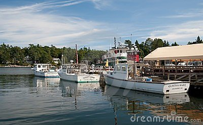 Sunapee Harbor Editorial Photo