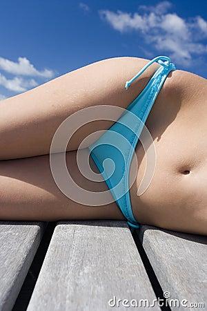Sunbathing - Vacation