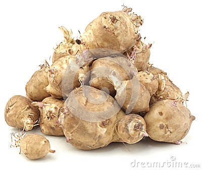 Sunchoke vegetable