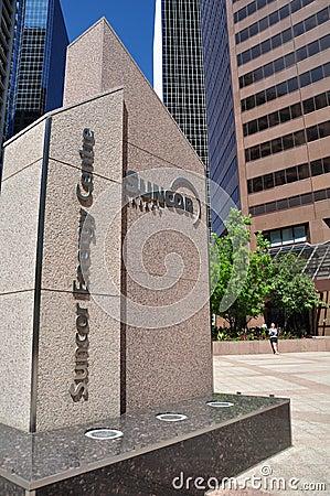 Suncor Energy Centre Editorial Image