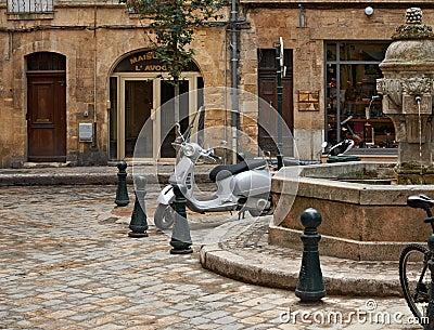 Sunday calmness in Aix en Provence