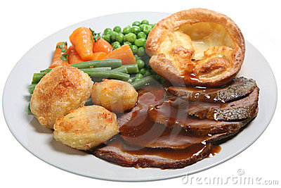 Sunday Roast Beef Dinner