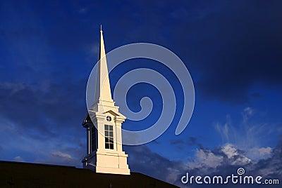 Sundown Church Steeple