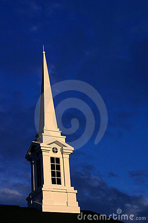 Sundown Church Steeple 3