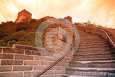 Sundown of Great Wall, Beijing