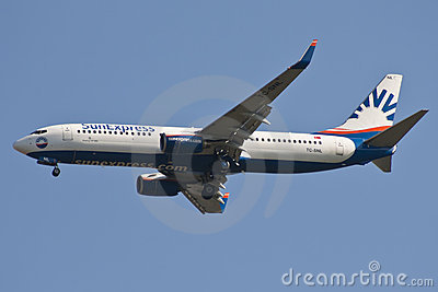 SunExpress airline Editorial Stock Image