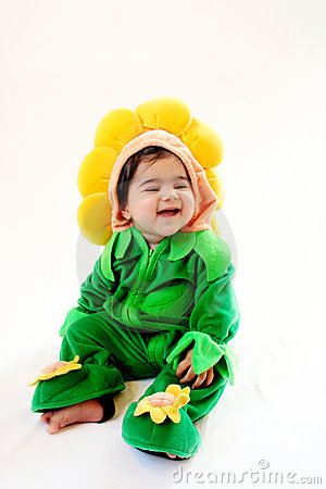 Free Sunflower Baby Royalty Free Stock Photos - 4348508