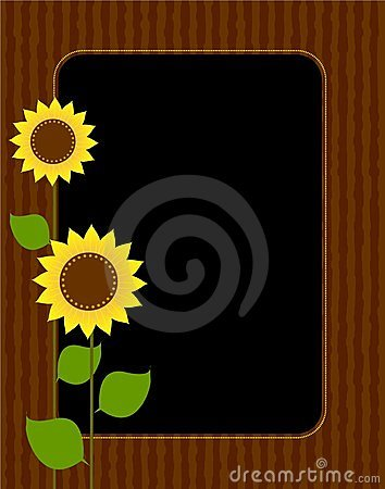 Sunflower border / frame