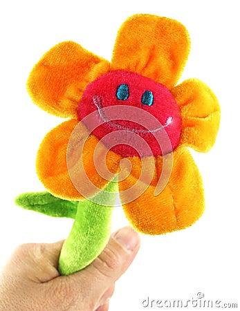 Sunflower In Hand