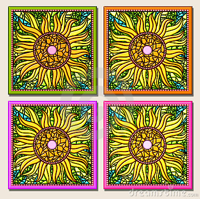 Free Sunflower Multi-mosaic Stock Images - 507944