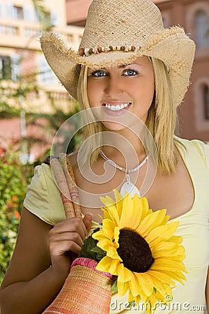 Free Sunflower & Style Stock Photo - 5040870