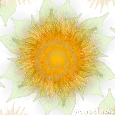 Free Sunflower Texture Fading Gold Stock Photos - 2158593