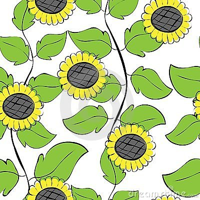 Sunflowers repetition