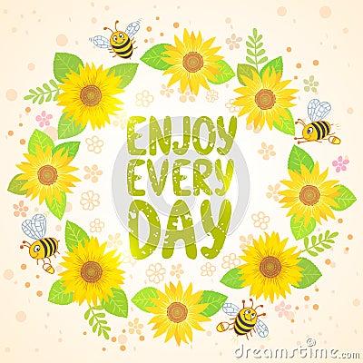 Sunflowers Stock Vector - Image: 41797887