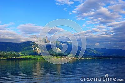 Sunglow mountain
