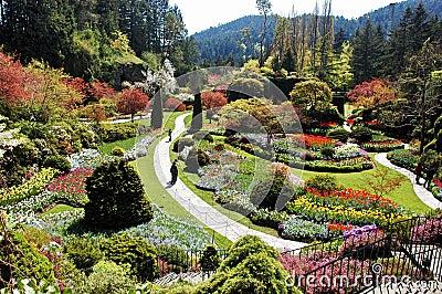 Sunken Garden,Canada