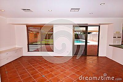 Sunken Lounge Room