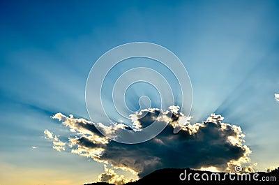 Sunlight beam
