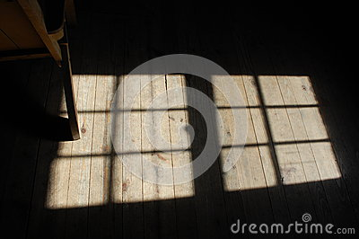 Sunlight on floor