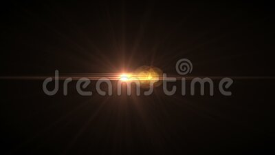 Sunlight  moving lights optical lens flares shiny animation art background. Horizontal Sunlight  moving lights optical lens flares shiny animation art background stock footage