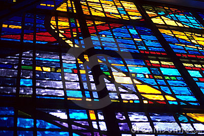 Sunlit Stained Glass