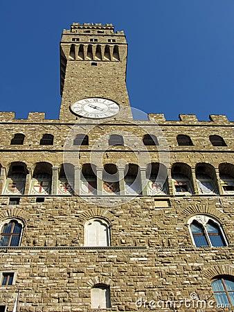 Sunlit Vecchio Palace