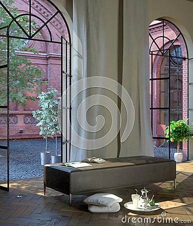 Sunny afternoon interior