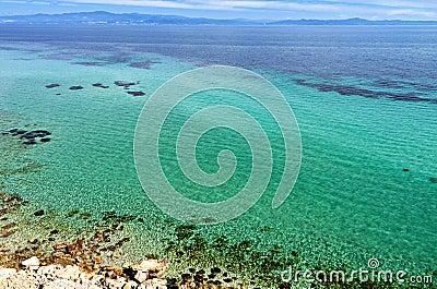 The Mediterannean sea in Greece