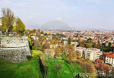 Sunny Bergamo.