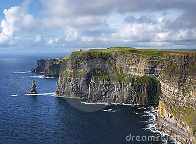 Sunny Cliffs of Moher