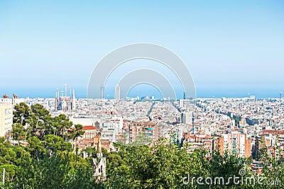 Sunny day in Barcelona