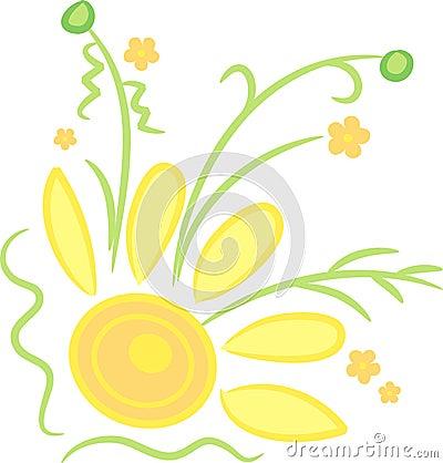 Sunny Flower Corner