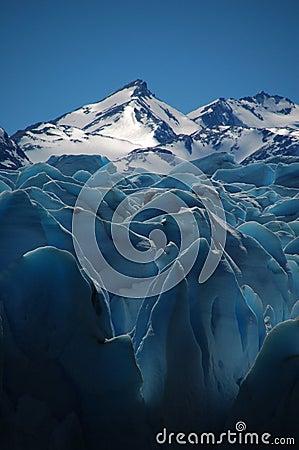Sunny glacier