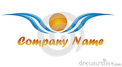 Sunny Logo for a tourism agency