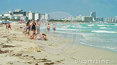 Sunny Miami Beach Relaxation filme