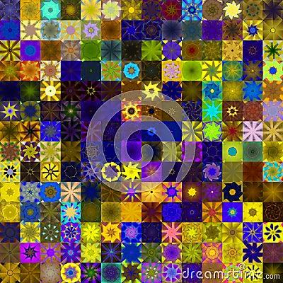 Sunny rag pattern