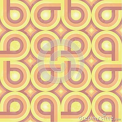 Sunny Retro Pattern (weave)