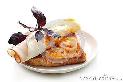 Sunny sandwich