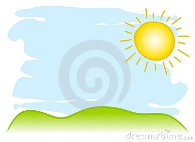 Sunny Sky Background Royalty Free Stock Photos - Image ...