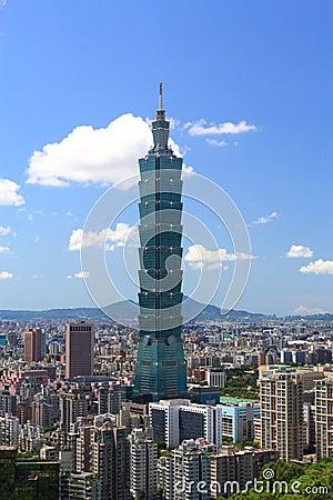 Free Sunny Taipei Scene Royalty Free Stock Photography - 12235267