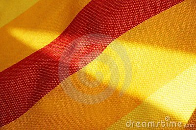 Sunny textile background