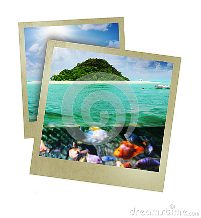Sunny Tropical Beach On The Island Royalty Free Stock Photography - Image: 29040067