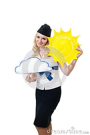 Sunny weather forecast