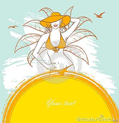 Free Sunny Woman Royalty Free Stock Image - 20362126