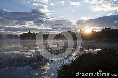 Sunrise in the Adirondacks