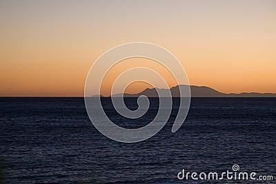 Sunrise on Aegean sea - Karpathos island