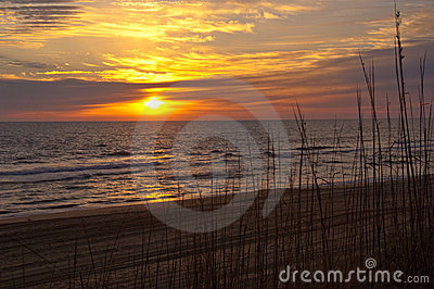Sunrise at the Atlantic Ocean